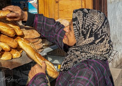 Buying Bread - Casablanca