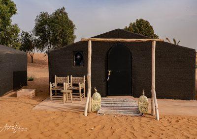 Desert Tent Camp Near Erfoud