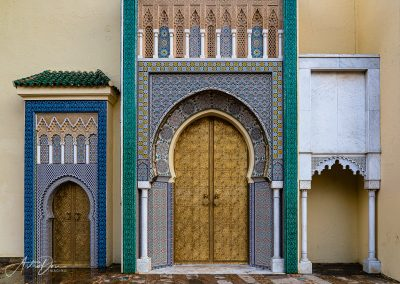 Doors at Royal Palace Fez