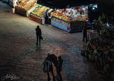 Getting Late Jama El F'na Market Marakesh