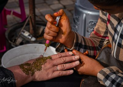 Henna Staining Lahdim Square Meknez