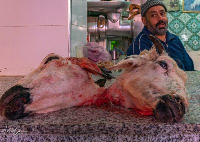 Interesting Butcher Display Moulay Driss