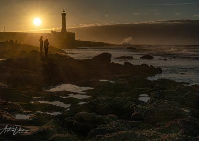 Lighthouse at Sunset Rabat