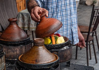 Meal in a Tajine Pot