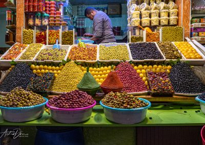 Olive Vendor Meknez