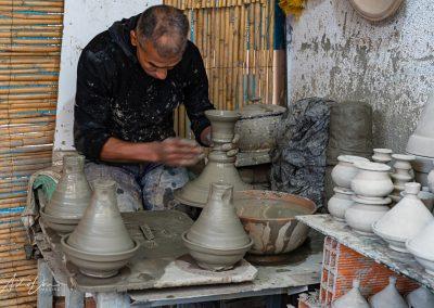 Tajine Pottery Maker Fez