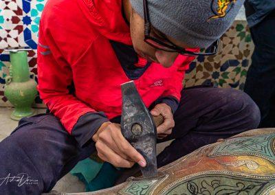 Vase Artisan Fez
