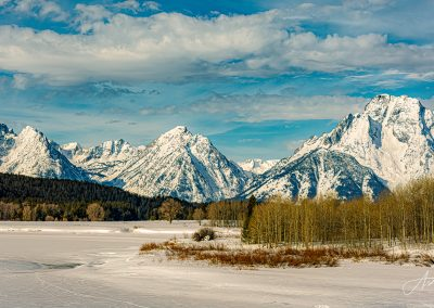 Mount Moran and the Tetons