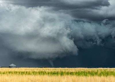Tornado Near Hays, KS May 26