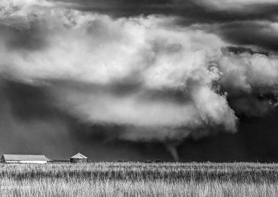 Tornado in Monochrome