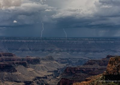 Distant Lightning from North Rim 7