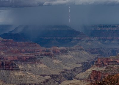 Distant Lightning from North Rim 8