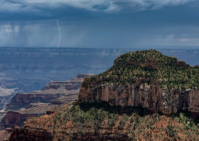 Distant Lightning from North Rim 4