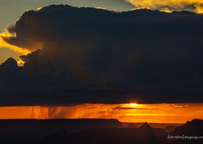 Lipan Point, South Rim Dark Cloud
